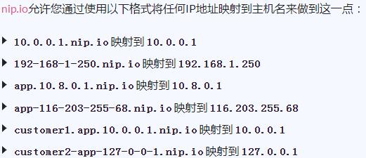 任何IP地址的无效简单通配符DNS